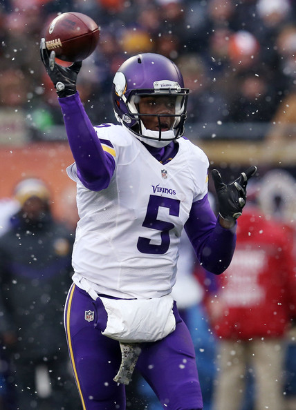 Teddy Bridgewater Minnesota Vikings Chicago Bears NFL 2015 picks against the spread America's White Boy