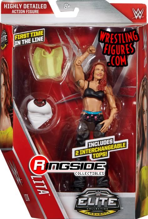 WWE Mattel Elite 41 Lita flashback toys
