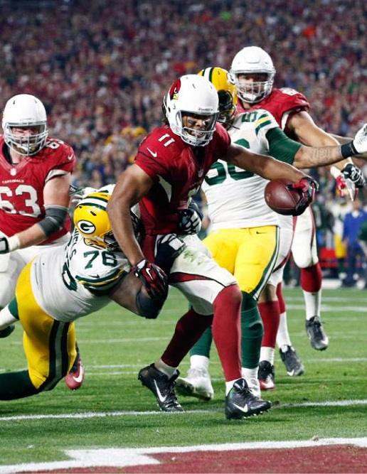 larry fitzgerald green bay packers nfl playoffs