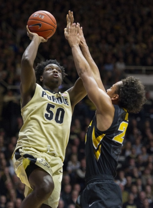 Caleb Swanigan purdue boilermakers 2016 ncaa tournament arkansas-little rock trojans