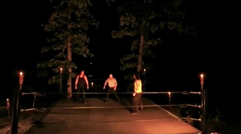 final deletion broken matt hardy impact wrestling tna outdoor match