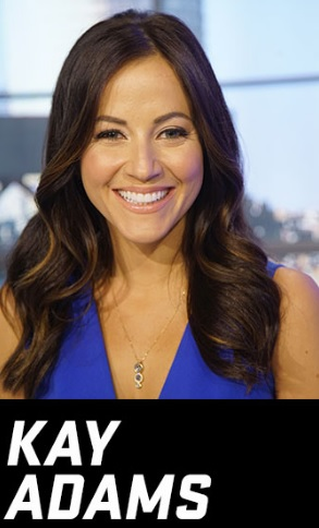 Sports Crush: Kay Adams | America's White Boy