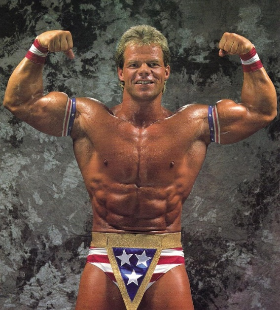 Lex Luger WWF WWE Hall of Fame