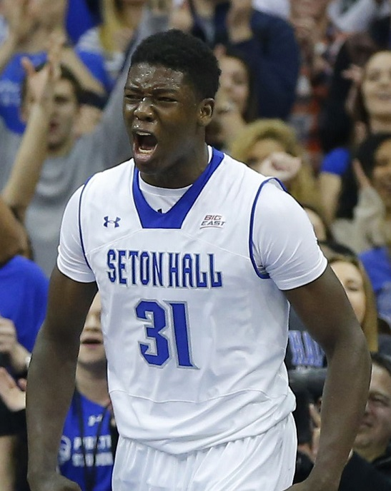 2017 Angel Delgado Seton hall Pirates NCAA Tournament March Madness