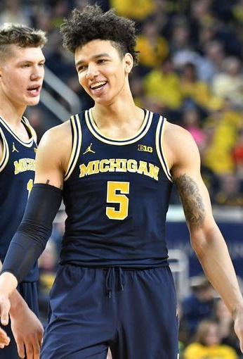 2017 DJ Wilson Michigan Wolverines NCAA Tournament March Madness