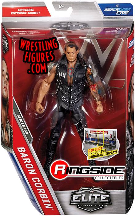 WWE Elite series 50 Baron Corbin wrestling action figures toys