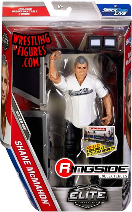 WWE Elite series 50 Shane McMahon wrestling action figures toys