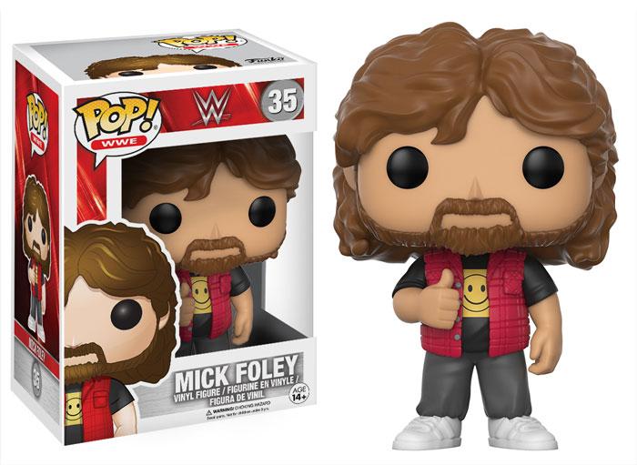 WWE Funko series Mick Foley 2017 toys action figures pop vinyl