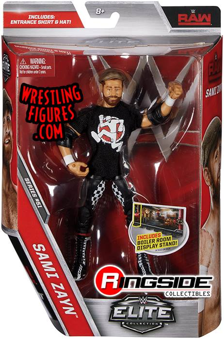 WWE Elite 51 Sami Zayn Smackdown Live RAW action figures toys toy crazy