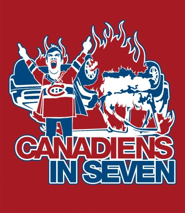 Canadiens+In+Seven+NHL+Shirt