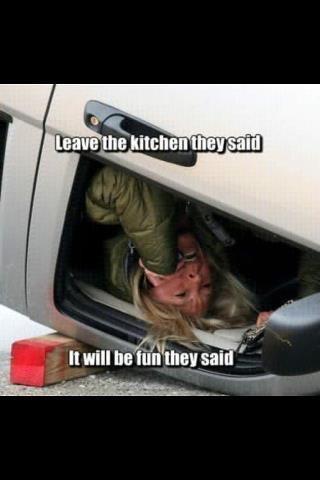 Leave the kitchen meme