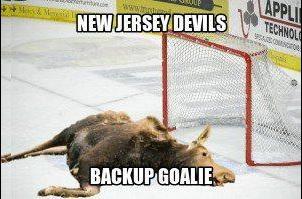 NHL+NJ+Devils+Backup+Goalie+MEME+Moose