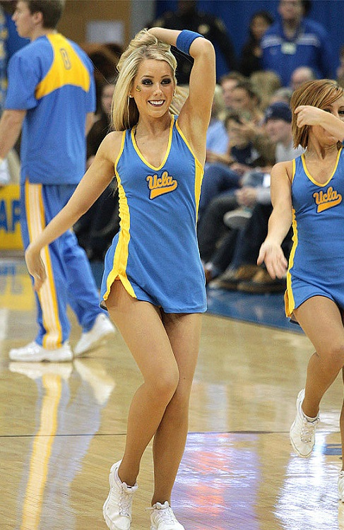 UCLA+Cheerleaders+Basketball+6 | America's White Boy