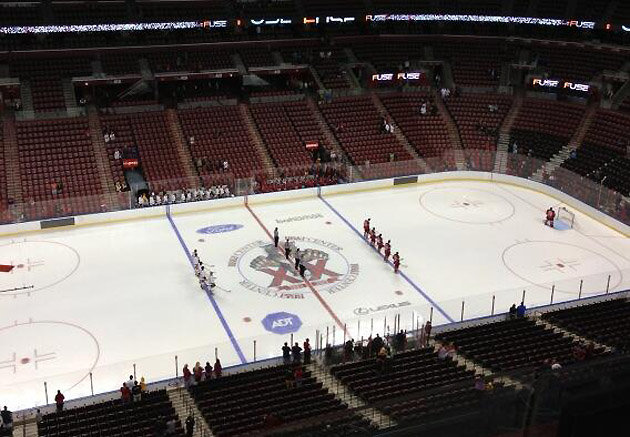 Sad Florida Panthers NHL Preseason Attendence