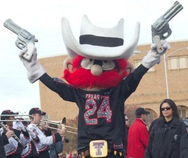 Texas Tech Guns Up Mascot
