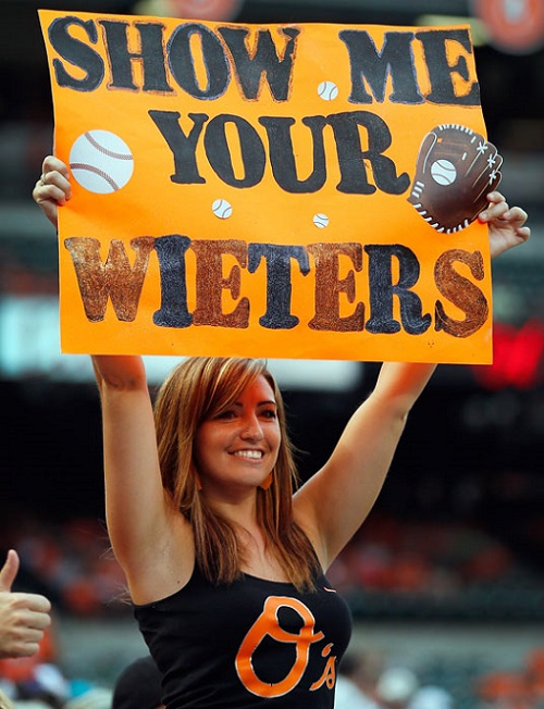 Hot Baltimore Orioles Fan 2014 MLB preview