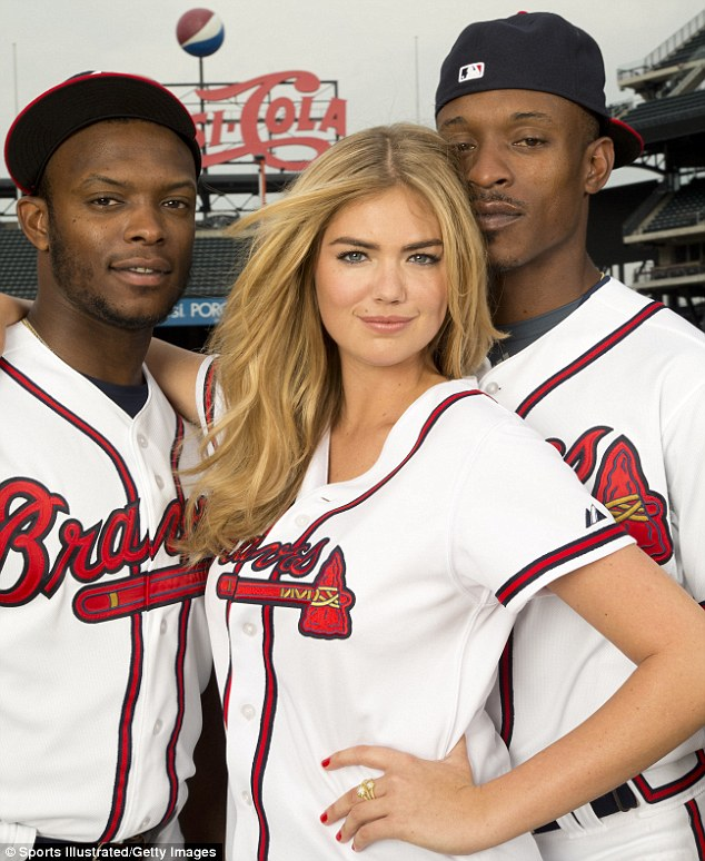 Kate Upton Atlanta Braves MLB Team Preview 2014
