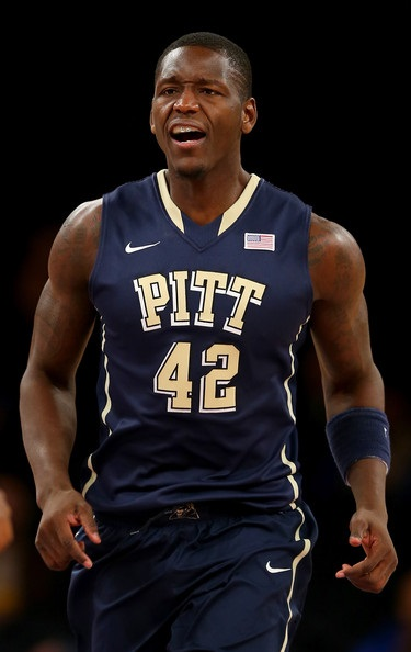 Talib Zanna Pittsburgh Panthers 2014 NCAA Tournament