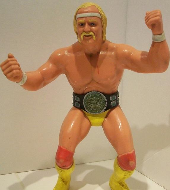 HULK HOGAN WWF LJN SERIES ONE WWE ACTION FIGURE