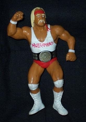 HULK HOGAN WWF LJN WHITE SHIRT VARIANT WWE ACTION FIGURE