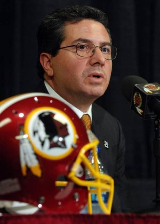Daniel Snyder Washington Redskins NFL Racist