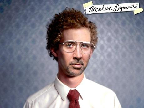 Nicolas Cage Napoleon Dynamite funny weird strange parody faceoff nic