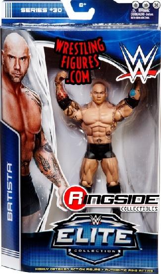 wwe elite 30 Batista The Animal