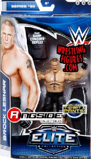 wwe elite 30 Brock Lesnar