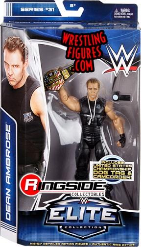 Dean Ambrose Elite 31 WWE Mattel The Shield Lunatic Fringe