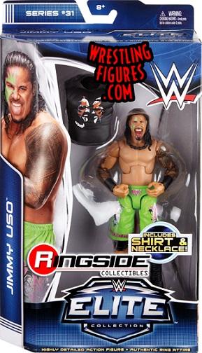 Jimmy Uso WWE Elite Mattel The Usos