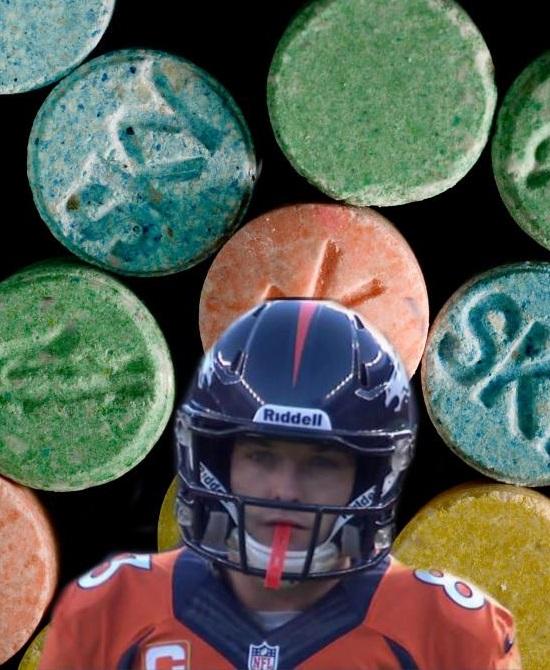 Wes Welker Funny Molly PED NFL Denver Broncos