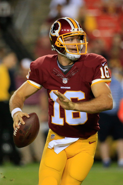 Colt McCoy Washington Redskins NFL backup RG3