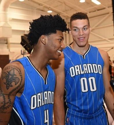 Elfrid Payton Aaron Gordon Orlando Magic NBA 2014-15