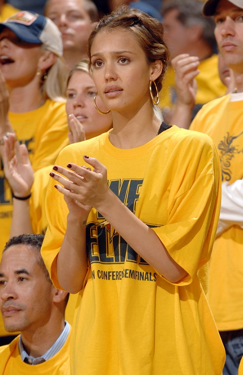 Jessica Alba Golden State Warriors NBA season Preview