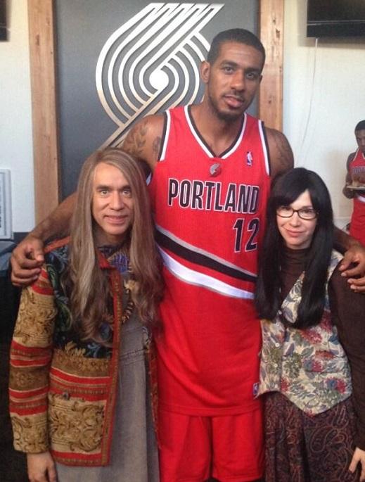 LaMarcus Aldridge Portlandia Portland Trail Blazers NBA