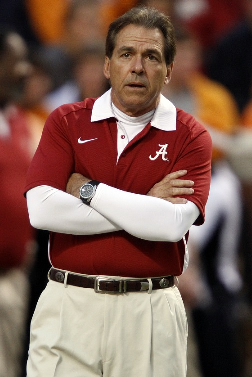 Angry-Mad-Nick-Sabana-Alabama-Crimson-Tide-Auburn-Tigers-Roll-Tide-War-Eagle