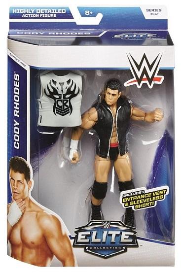 Cody Rhodes WWE Elite Series 32 Mattel Stardust