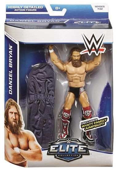 Daniel Bryan WWE Elite Series 32 Wyatt Family Jumpsuit