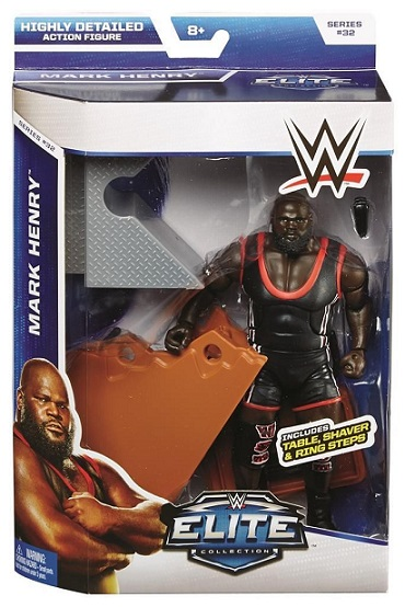 Mark Henry WWE Elite Series 32 Mattel