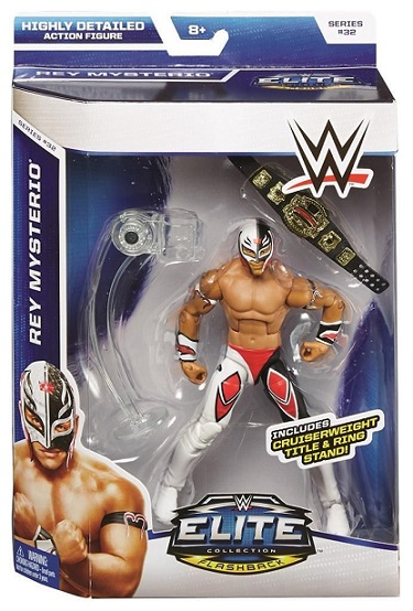 Rey Mysterio Jr WWE Elite Series 32 WCW Flashback