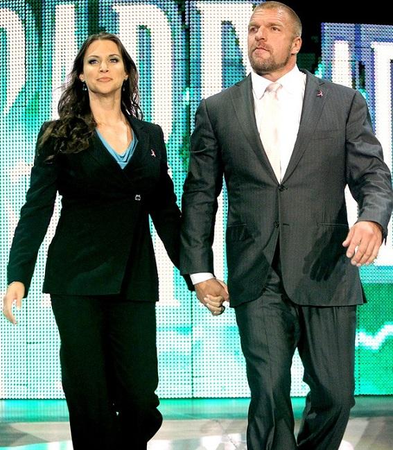 Triple H Stephanie McMahon WWE The Authority