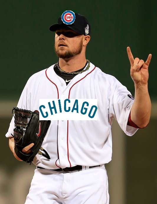 Jon Lester Chicago Cubs MLB 2014 Free Agency