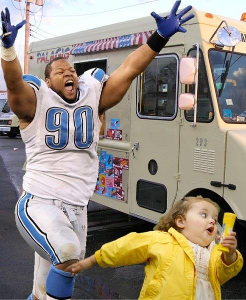 Ndamukong Suh Detroit Lions suspended Detroit Lions funny NFL meme