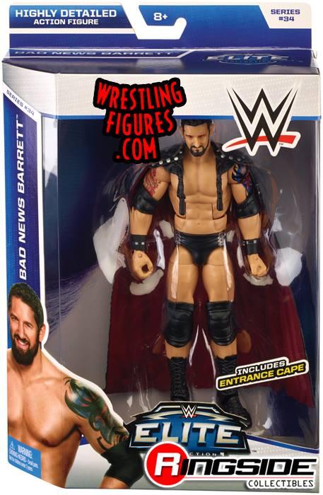Bad News Barrett WWE Elite toys Elite 34 Mattel Wade