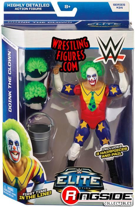 Doink WWE Elite toys Elite 34 Mattel