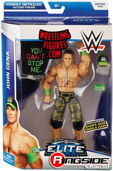 John Cena WWE Elite toys Elite 34 Mattel