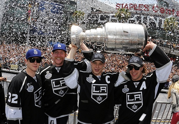 Los Angeles Kings Stanley Cup Parade NHL Quick