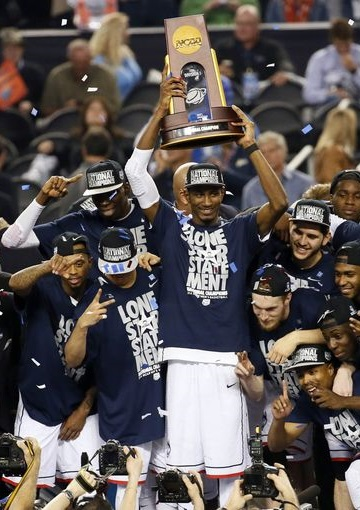 UConn NCAA Tournament champs march madness 2014