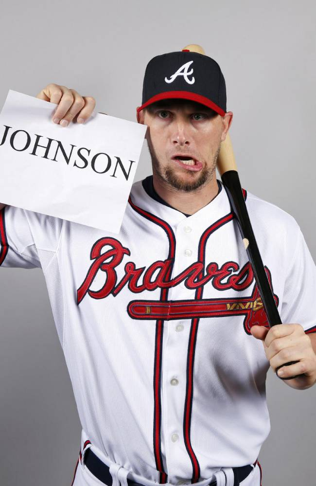 Atlanta Braves 2015 MLB Team Preview funny Chris Johnson weird shirtles