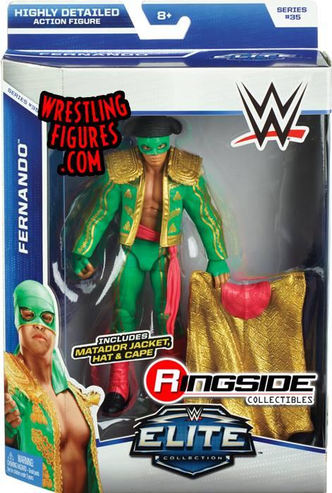 WWE Elite 35 Fernando Los Matadores Mattel Elite toys action figures 2015